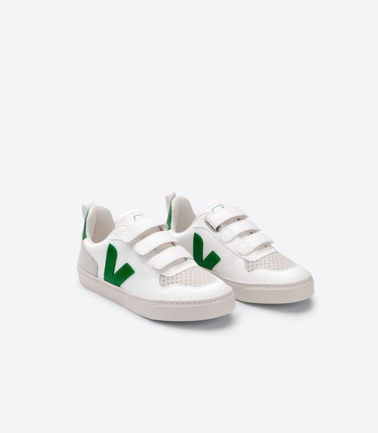 V-10 VELCRO CWL 白色 绿色