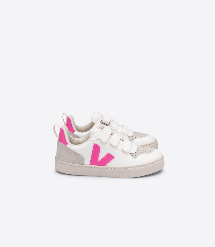 V-10 白色粉红色
