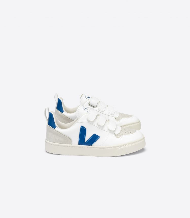 V-10 CWL 白色 靛青色