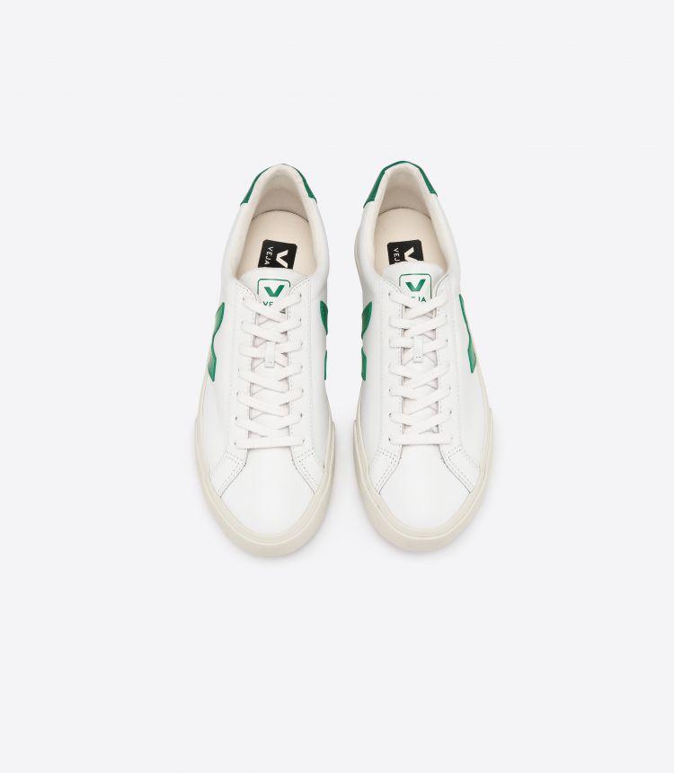 ESPLAR 皮革 白色 绿色