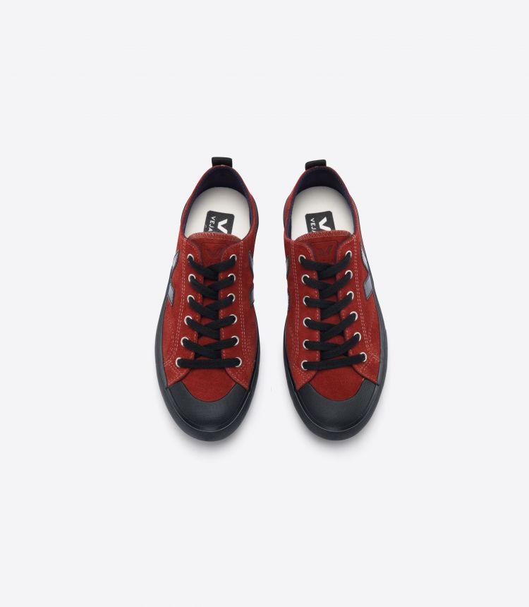 NOVA 绒面革 铁锈色 黑色-鞋底