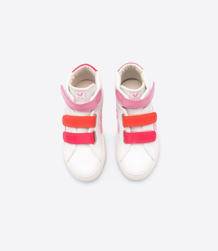 ESPLAR MID 白色 MULTICO 粉红色