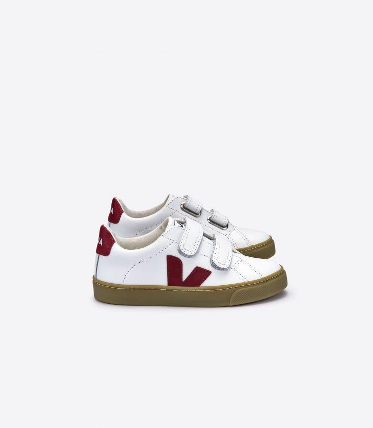 ESPLAR 白色 深酒红色 自然色 鞋底