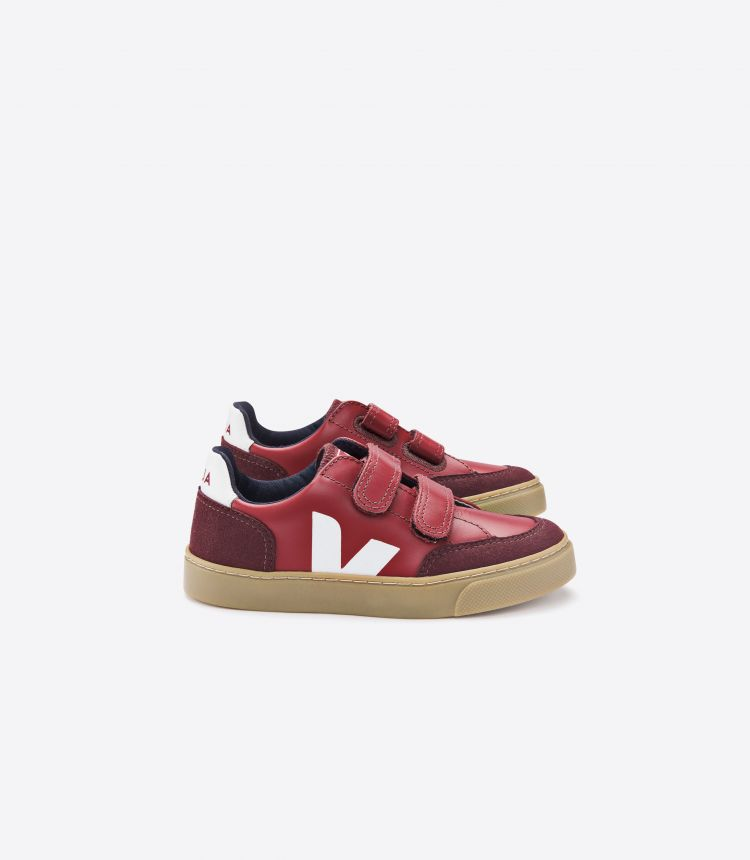 V-12 深酒红色 自然色 鞋底