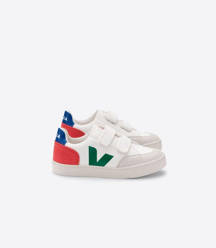 V-12皮革白色绿色红色