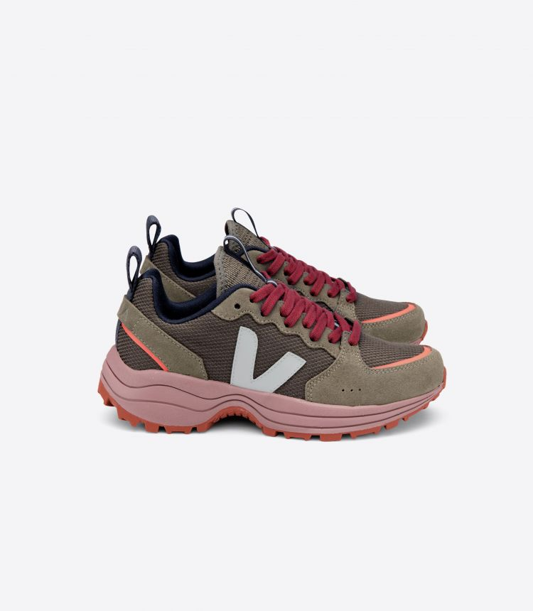 VENTURI B-网布布 橄榄色 粉红色-