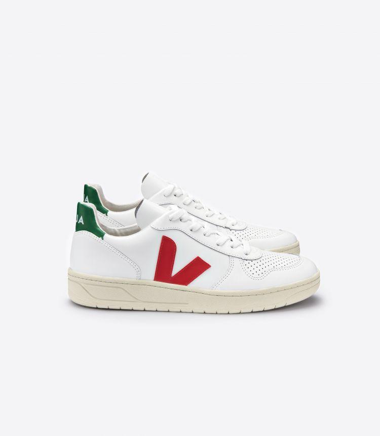 V-10 EXTRA 白色 红色 绿色