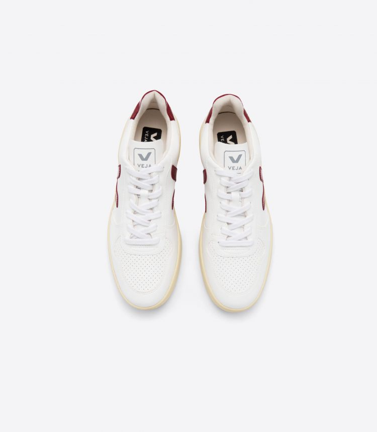 V-10 CWL 白色 深酒红色