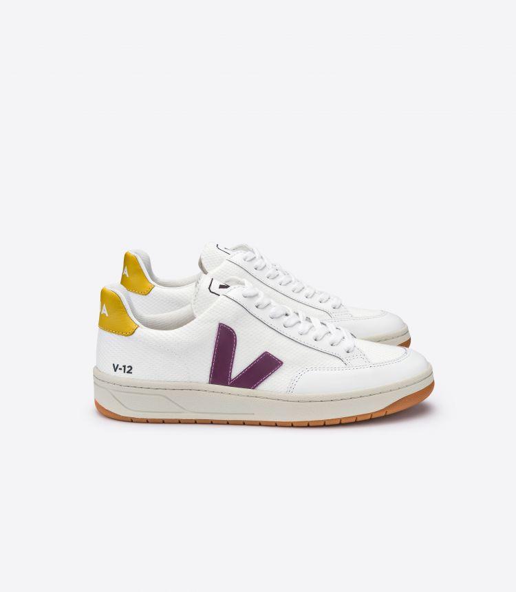 V-12 B-网布布 紫色 金色 黄色