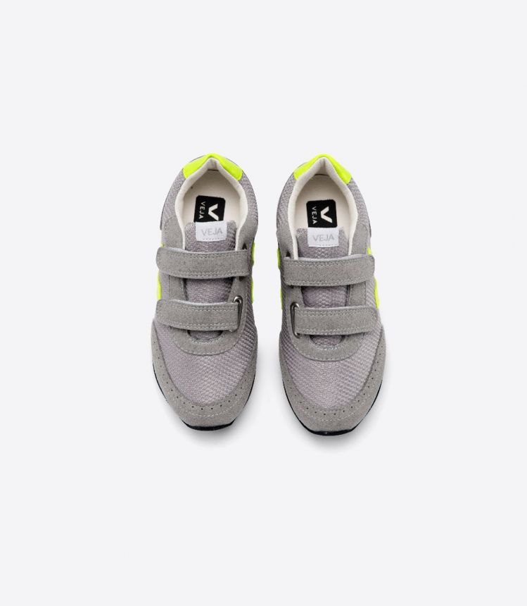 ARCADE B-网布布 银色 荧光黄