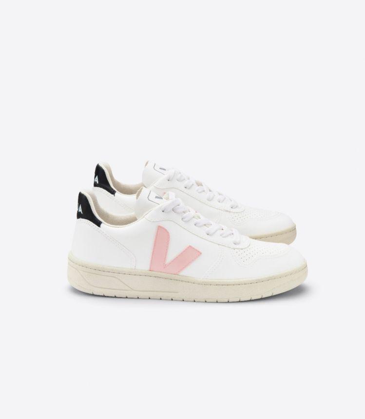 V-10 白色 粉红色 黑色