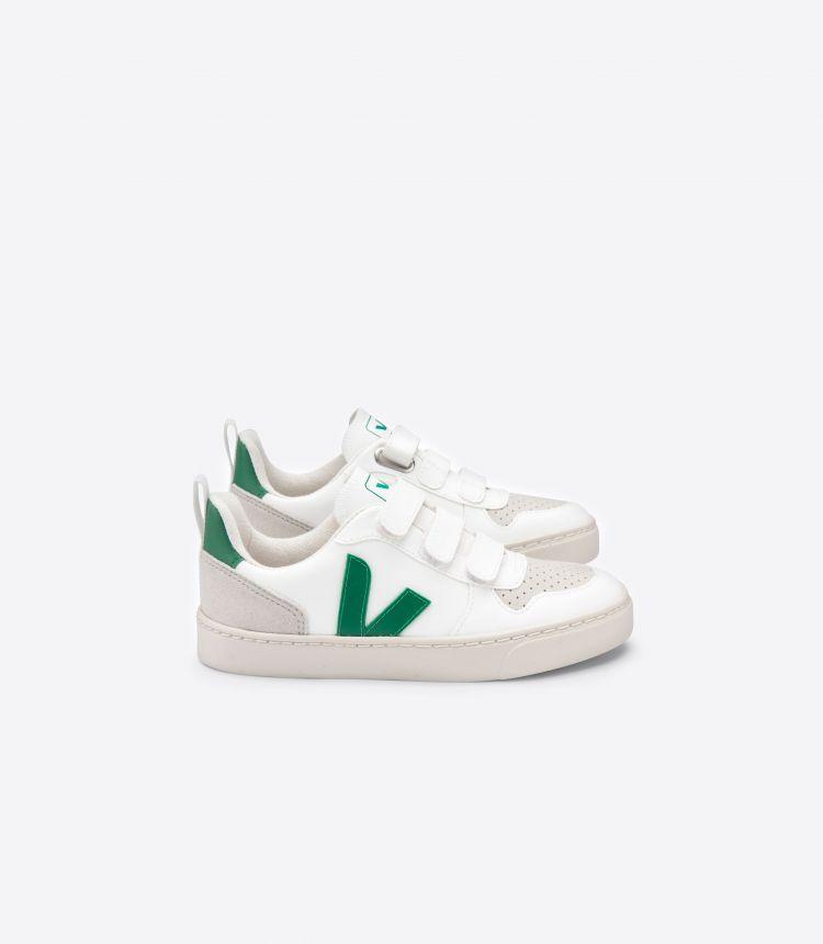 V-10 C.W.L 白色 绿色