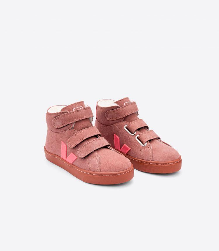 ESPLAR MID FURED 皮革粉红色荧光粉