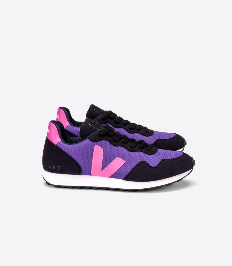 SDU REC ALVEOMESH 紫色 荧光粉 黑色