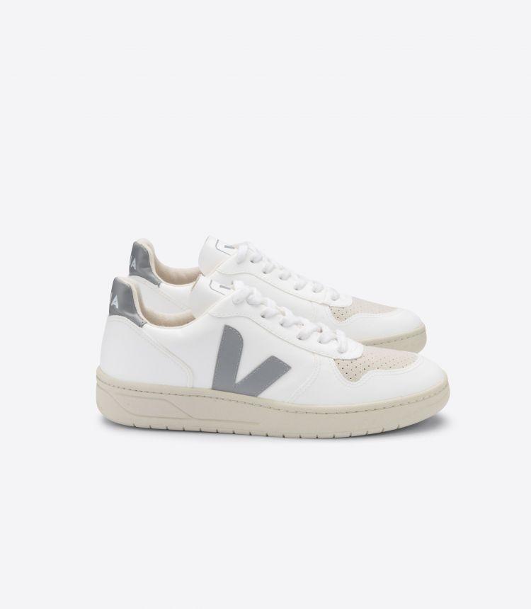 V-10 白色灰色
