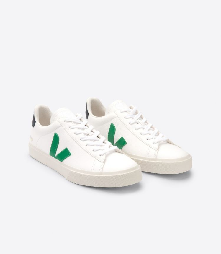 CAMPO 皮革白色绿色黑色